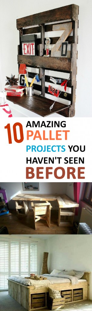 10 Amazing Pallet Projects You Haven T Seen Before