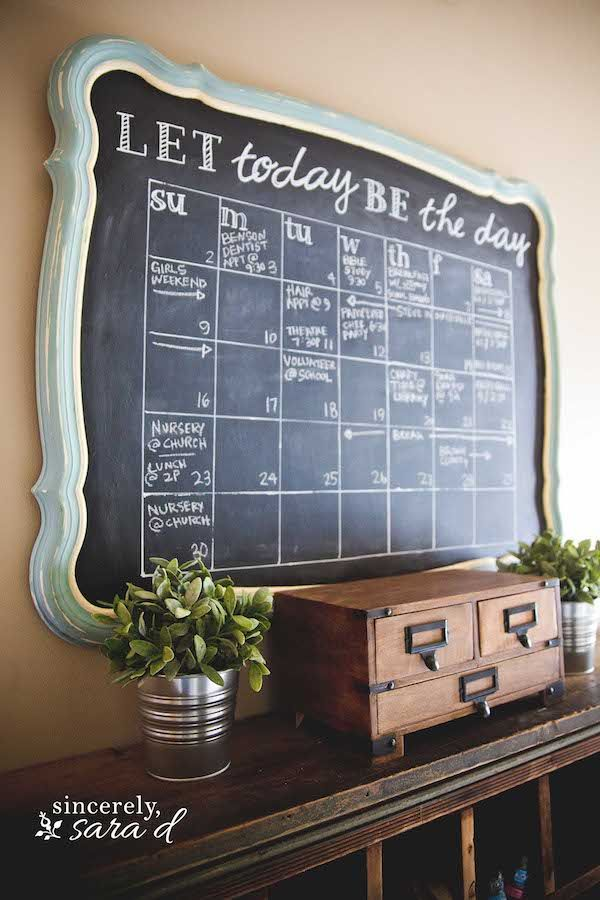 10 Chalkboard Projects that You Haven't Seen Before