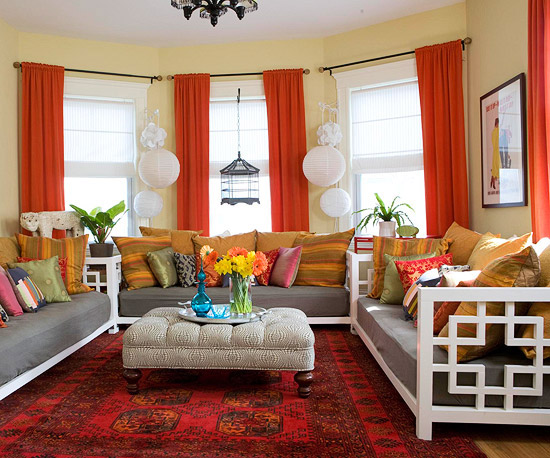 Color Schemes and Combinations for a Living Room
