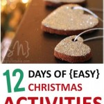 12 Days of Easy Christmas Activities