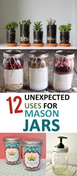 Mason jar projects, things to do with mason jars, popular pin, DIY mason jar, DIY projects, storage hacks, DIY gift ideas.