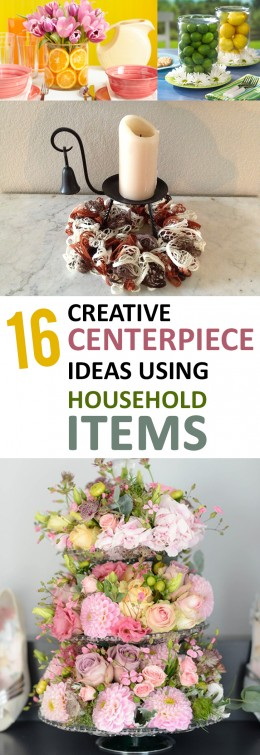16 Creative Centerpiece Ideas Using Household Items