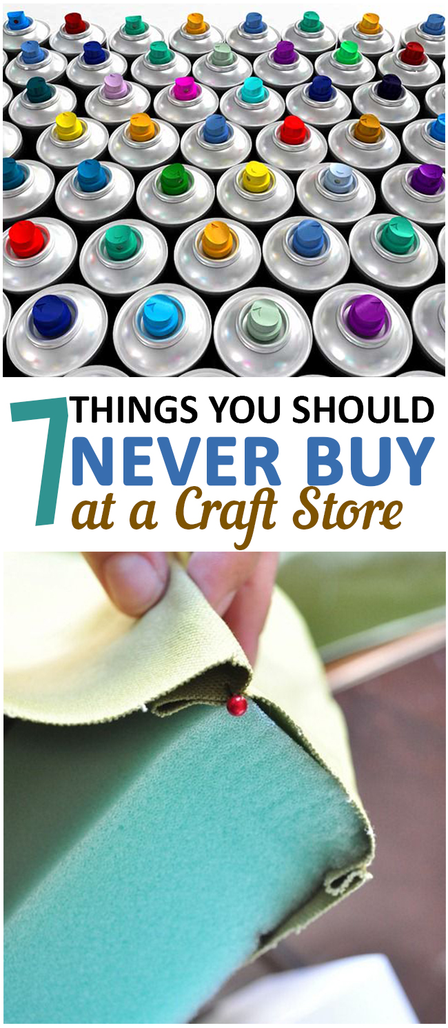 7 things you should never buy at a craft store page 3 of 9 for What craft should i do