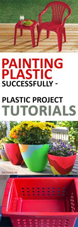 Painting Plastic Successfully- Plastic Project Tutorials