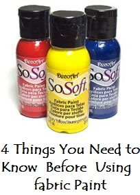 4 Things You Need to Know About Fabric Paint