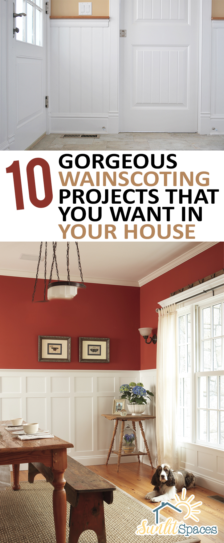 10 Gorgeous Wainscoting Projects that You Want in Your House| #DIYHome #DIYHomeDecor #DIYHomeDecorProjects #HomeDecorHacks #HomeImprovementProjects #HomeImprovementDIY