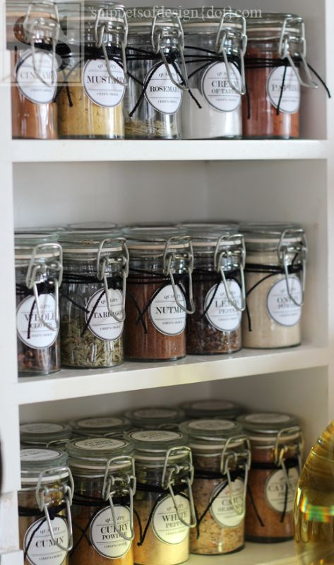 15 Clever Ways to Organize Your Kitchen Spice Cabinet