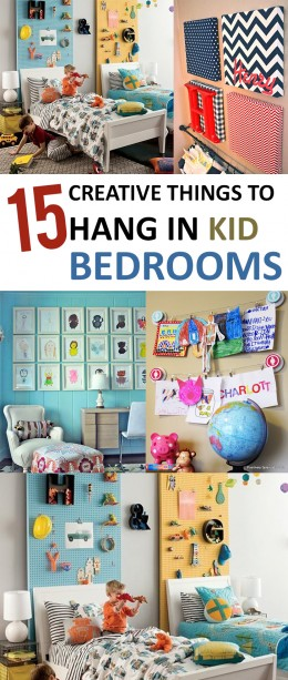 15 Creative Things to Hang in Kid Bedrooms (1)