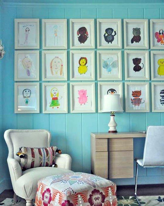 Creative Kid Rooms: 15 Creative Things To Hang In Kid Bedrooms
