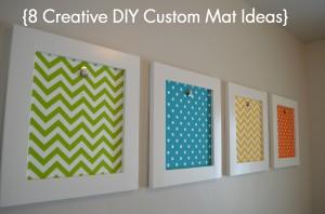 8 Creative Mat ideas