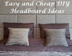 Easy headboards design decoration Homemade headboard ideas cheap