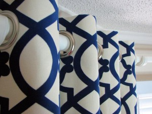 Grommet style window treatment