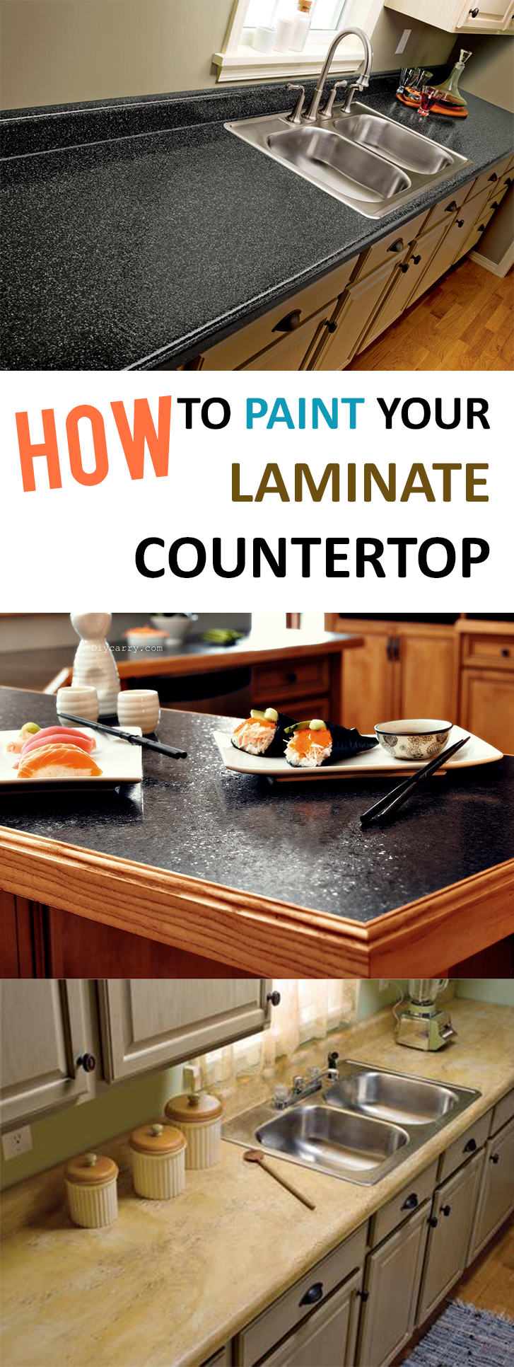 how to paint laminate countertop. Black Bedroom Furniture Sets. Home Design Ideas