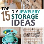 Top 15 DIY Jewelery Storage Ideas