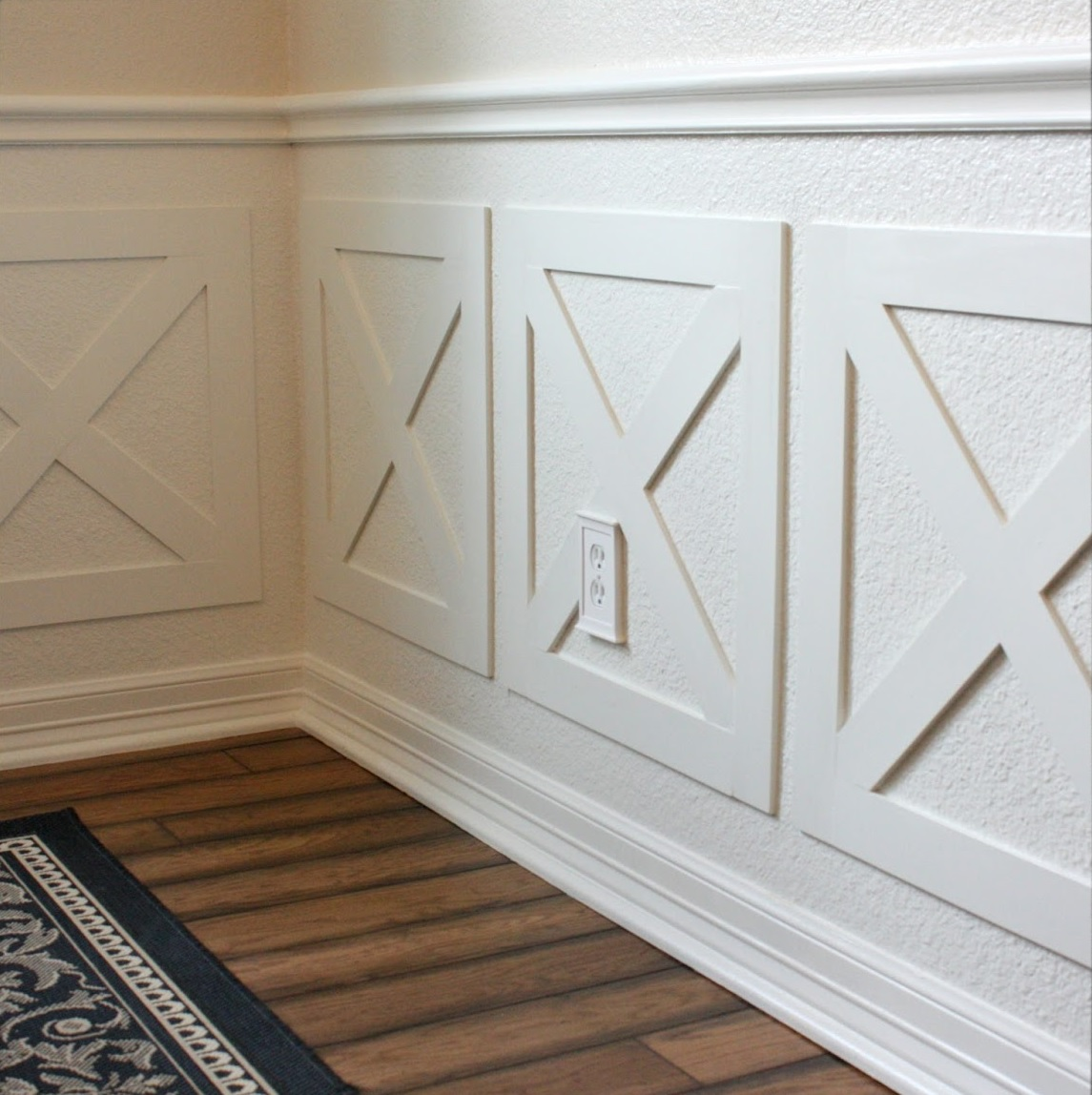 Wainscoting styles Half Wall