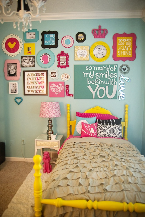 little girl room headboard