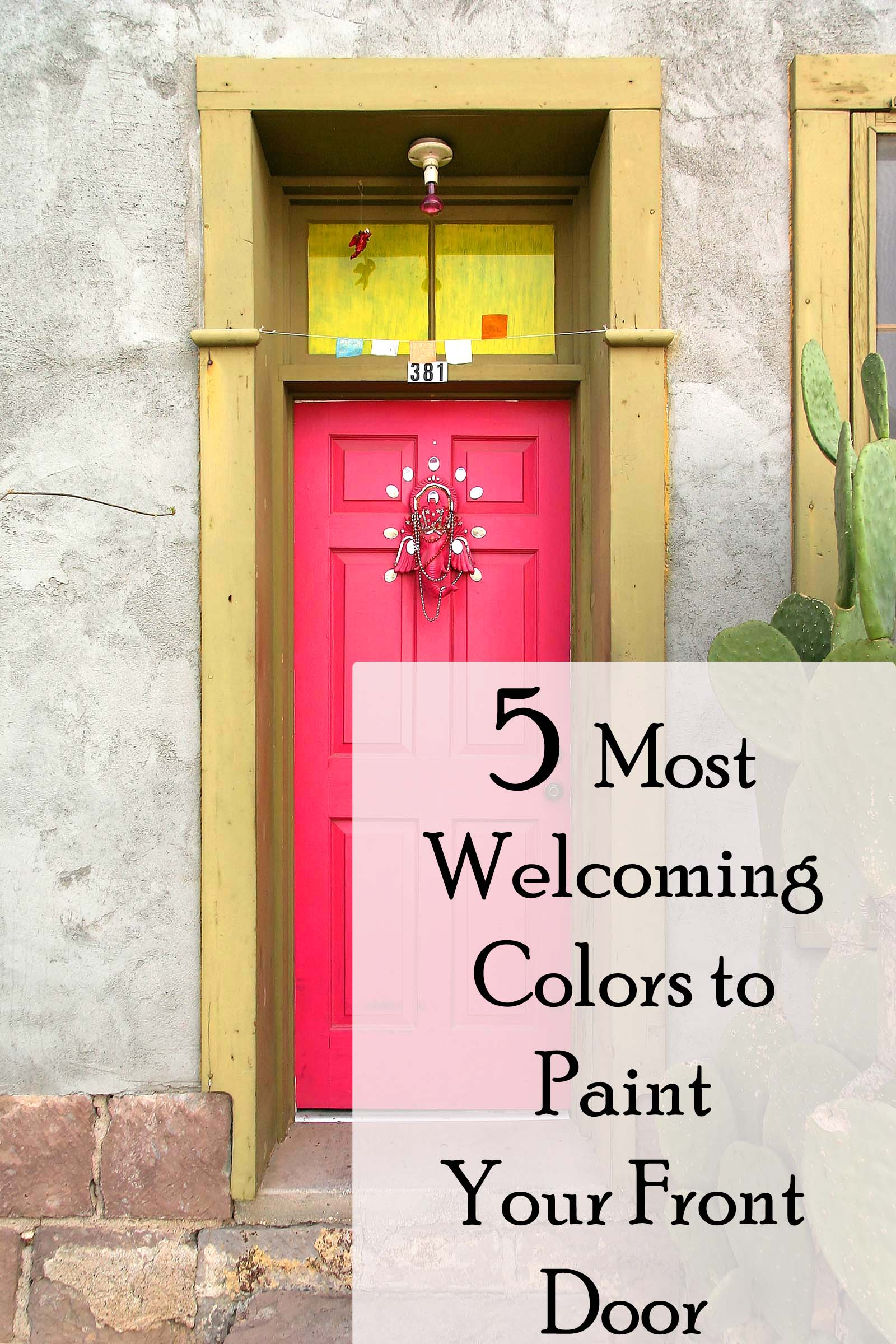 Most Popular Front Door Colors : Painting the front door of your house