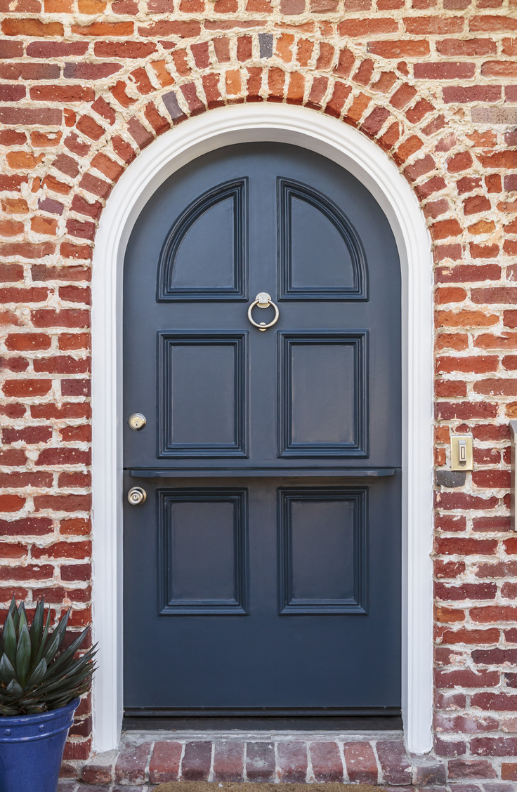 Blue is a classic front door color that is very inviting. Here are some welcoming front door colors to inspire you!