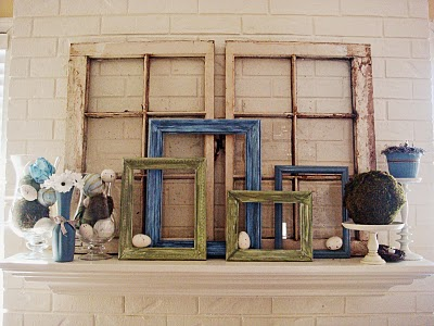 Image result for empty picture frames decor