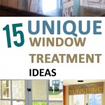 Unique window treatments, window treatment ideas, DIY window treatments, popular pin, home decor, DIY window, DIY home decor, easy home improvement, tutorials. .