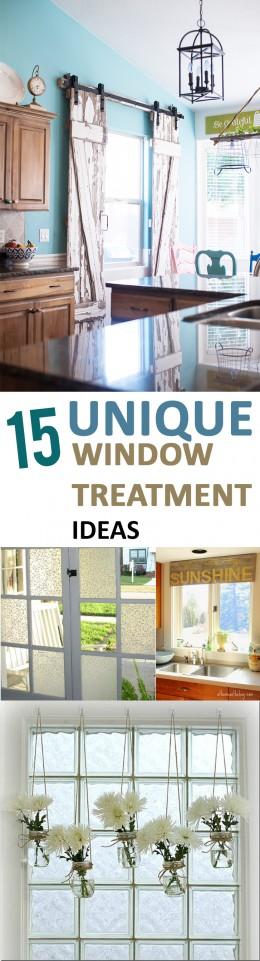 Unique window treatments, window treatment ideas, DIY window treatments, popular pin, home decor, DIY window, DIY home decor, easy home improvement, tutorials. .