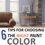 6 Tips for Choosing the Right Paint Color