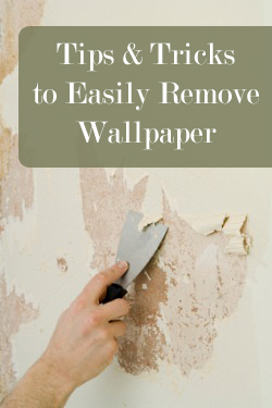 How do you strip wallpaper