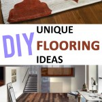 Unique DIY Flooring Ideas