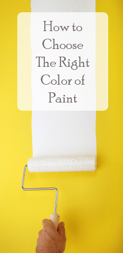 Choosing the right paint color - How to pick paint colors ...