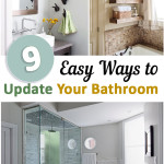 Bathroom, bathroom décor, organizing small spaces, small space living, dream home, popular pin, DIY bathroom revamp, bathroom remodel, budget remodeling