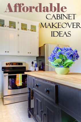 Affordable Cabinet Makeover Ideas | | Sunlit Spaces