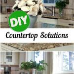 Kitchen counter top, kitchen counter top ideas, popular pin, DIY kitchen counter top, DIY kitchen projects, easy home remodeling, DIY home remodel.