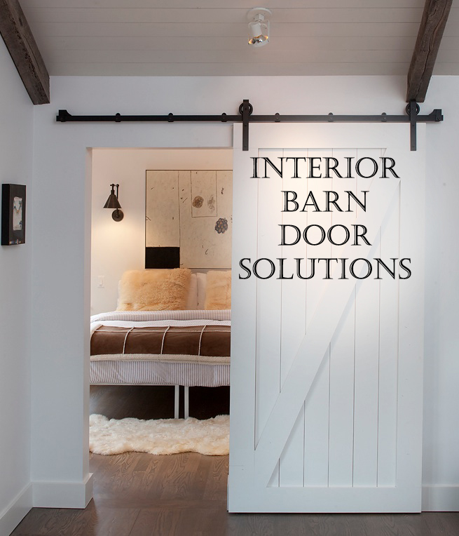 interior barn door solutions sunlit spaces