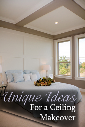 Unique Ideas for a Ceiling Makeover