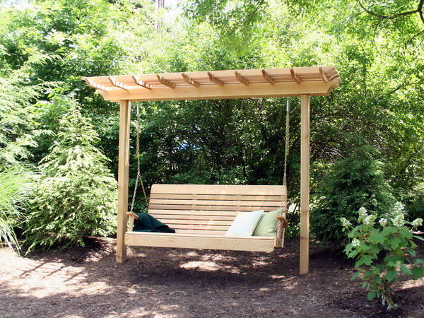 Swing yourself to relaxation while you listen to the birds sings and the  insects hum all around you! swings9 - Fun And Creative Outdoor Swing Ideas - Page 10 Of 12 -