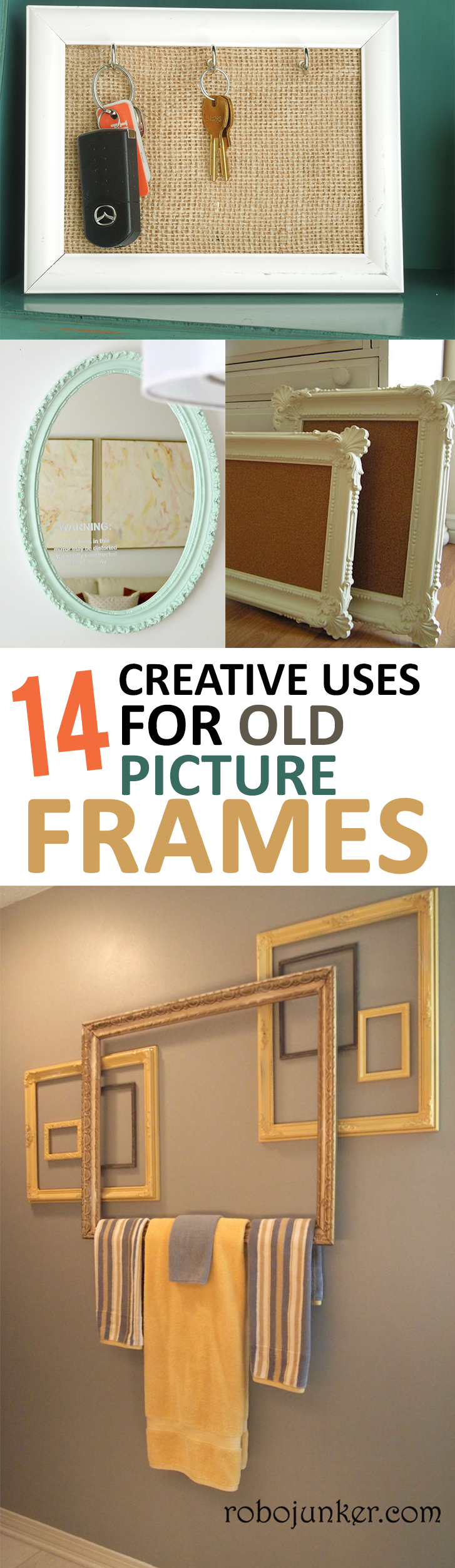 14 creative uses for old picture frames page 11 of 15
