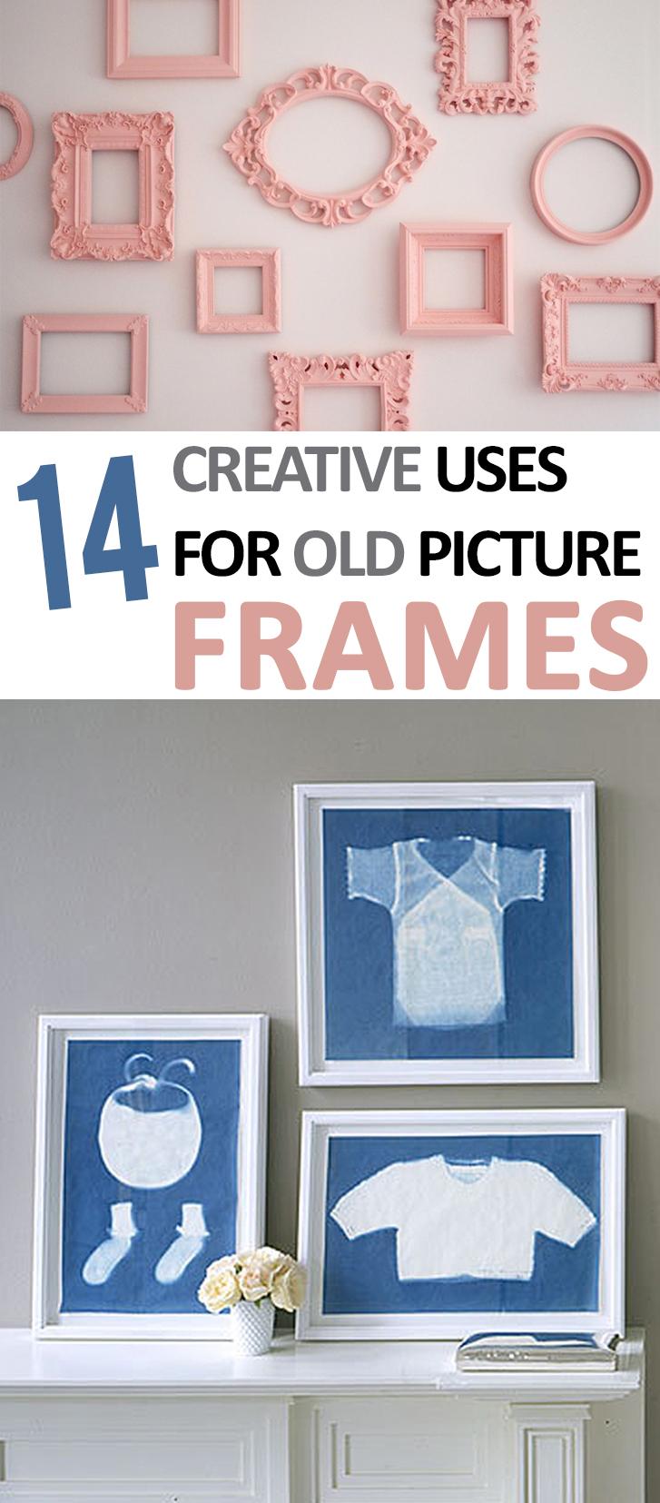 DIY picture Frames, DIY Decor, DIY Home Decor, Creative Uses for Picture Frames, DIY Home Decor, Home Decoration, DIY Home, Repurpose Projects.