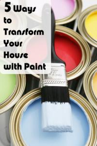 5 способов превратить ваш дом с краской