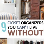 Closet Organization, Organization Tips and Tricks, Organization 101, Home Organization. Closet, Organization, DIY Home, Organization.