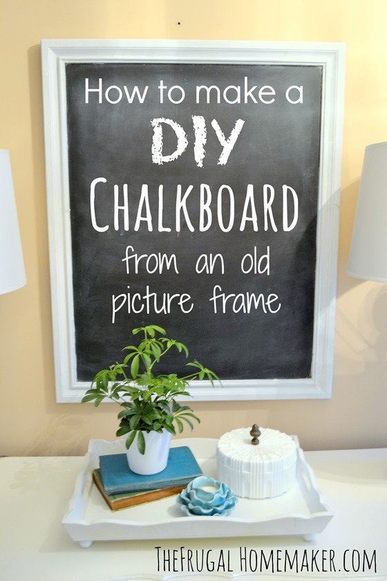 14 creative uses for old picture frames page 4 of 15 for Creative ideas for old picture frames