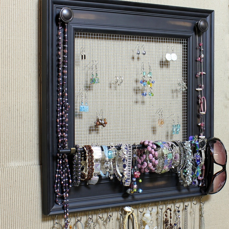 Picture Frame Jewelry Organizer - The Best Photo Jewelry ...