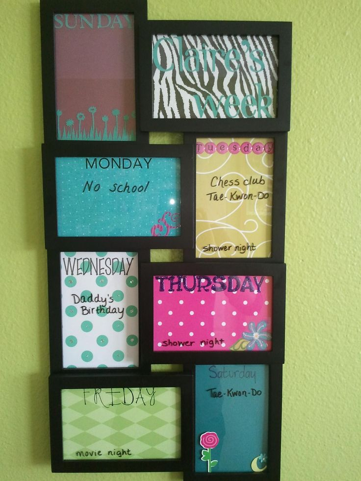 Uses For Old Picture Frames