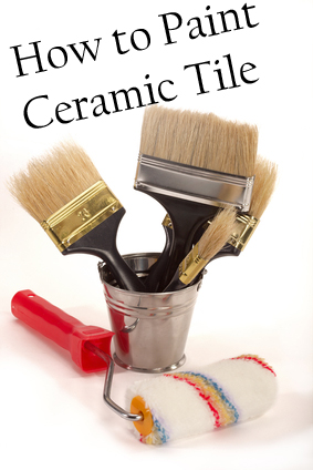 Painting Additionally How To Paint Ceramic Tile 2 Furthermore Painted