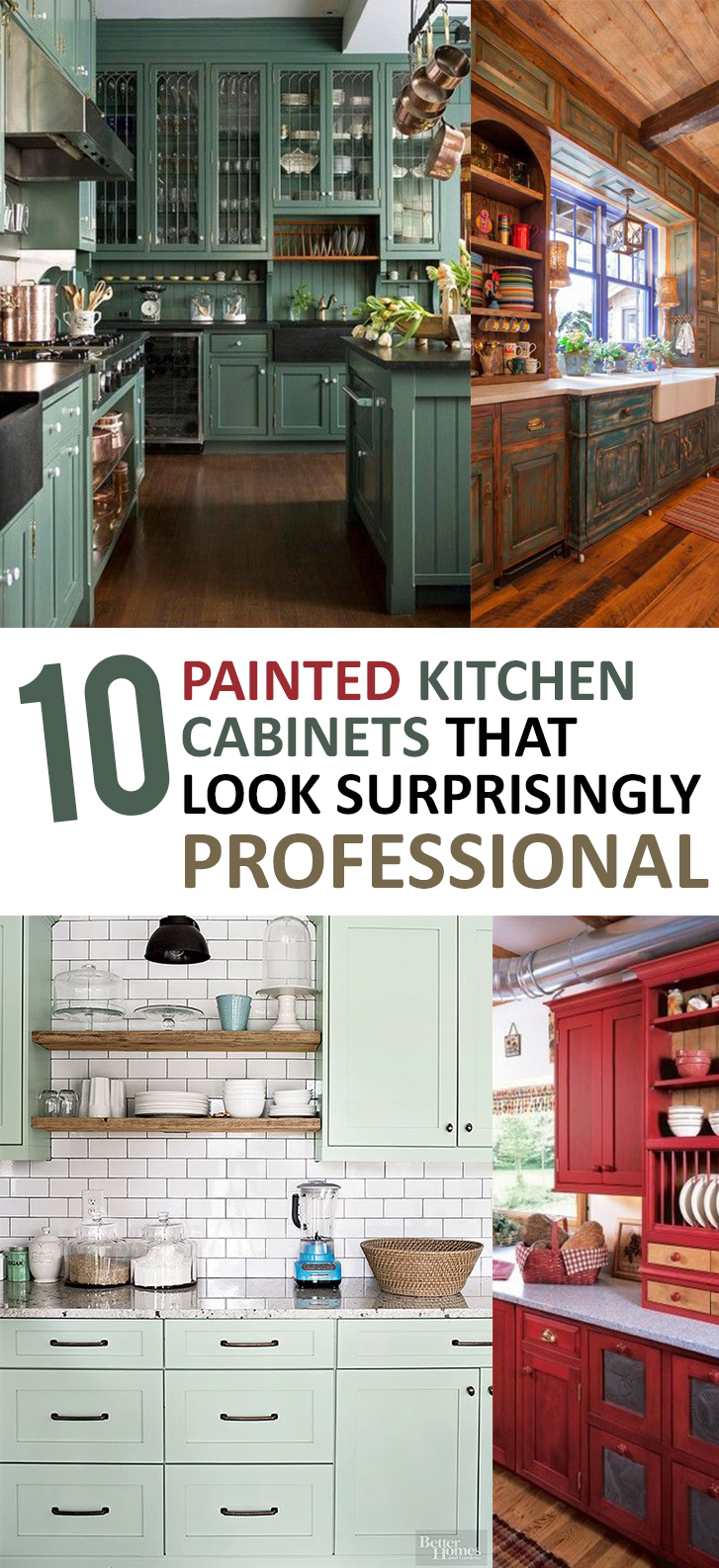11 DIY Kitchen Cabinets that Look Surprisingly Professional -