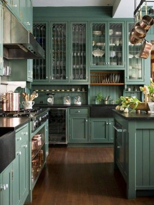 11 Painted Kitchen Cabinets that Look Surprisingly Professional