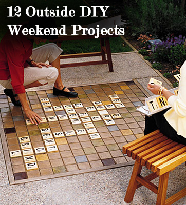 14 outdoor diy weekend projects sunlit spaces