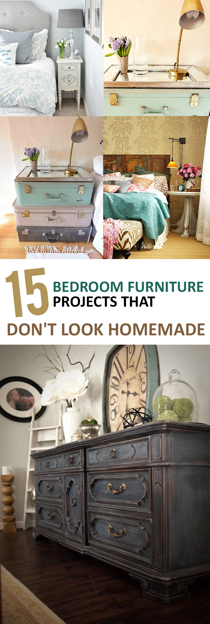 15 bedroom furniture projects that don 39 t look homemade. Black Bedroom Furniture Sets. Home Design Ideas
