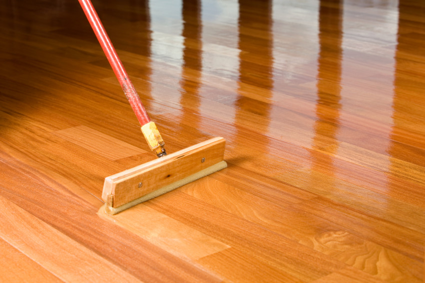 How to refinish your wood floor without sanding for Hardwood flooring prefinished vs unfinished