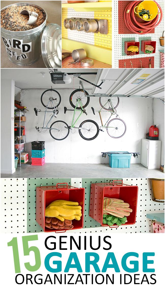 Genius Garage Organization Ideas