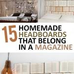 Headboards, homemade headboards, magazine headboards, DIY headboards, easy headboard ideas, popular pin, bedroom remodel, bedroom updates, bedroom upgrades.